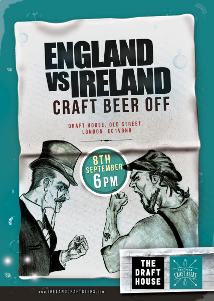 England V Ireland Craft Beer Off - Ireland Craft Beer