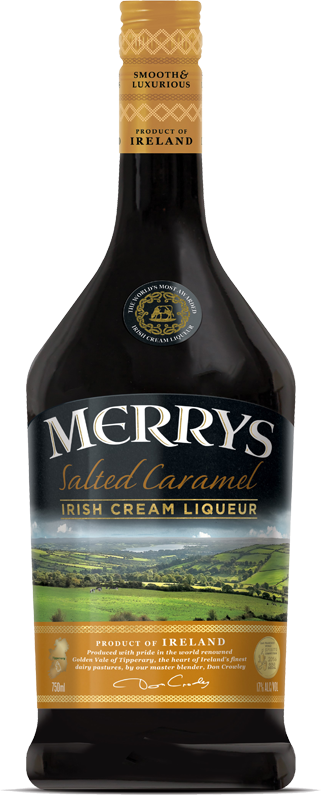 Salted Caramel Irish Cream Liqueur