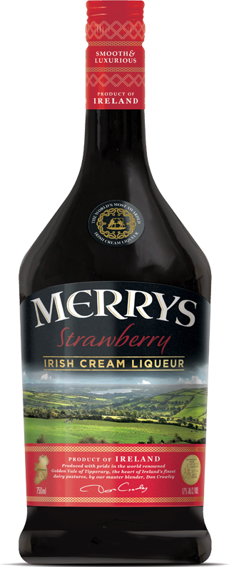 Strawberry Irish Cream Liqueur