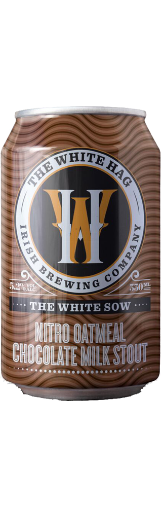 White Sow Oatmeal Chocolate Milk Stout Nitro