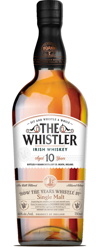 The Whistler 10 Year Old Whiskey