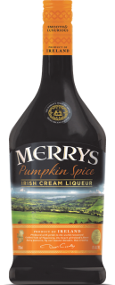 Pumpkin Spice Irish Cream Liqueur